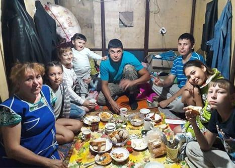 Семья Аитбаевых